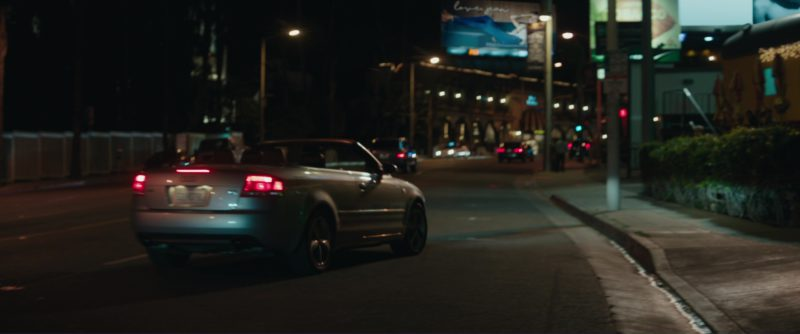 Audi A4 Car Used by Jessica Chastain in Molly's Game (2017) Movie Product Placement