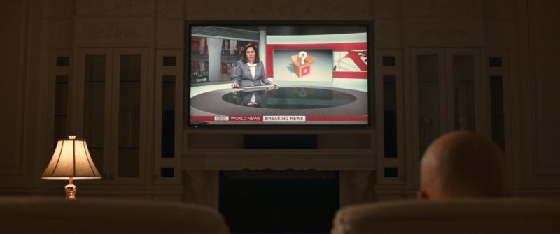 BBC Breaking News in Downsizing (2017) Movie Product Placement