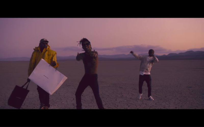Balenciaga Paper Bag in Aries (YuGo) Part 2 by Mike WiLL Made-It, Rae Sremmurd, Big Sean (1)