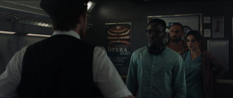 Beats Headphones in The Commuter (2018) Movie Product Placement