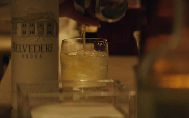 Belvedere Vodka in Molly's Game