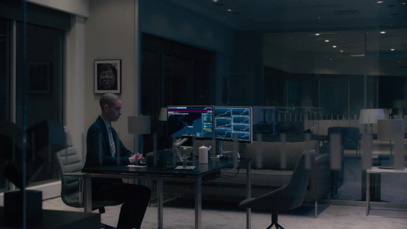 Bloomberg Terminals and Keyboard, Cisco Phone Used by Asia Kate Dillon in Billions: The Wrong Maria Gonzalez (2018) TV Show Product Placement