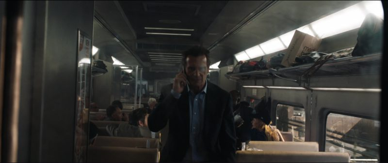 Bloomingdale's Medium Brown Bags in The Commuter (2018) Movie Product Placement