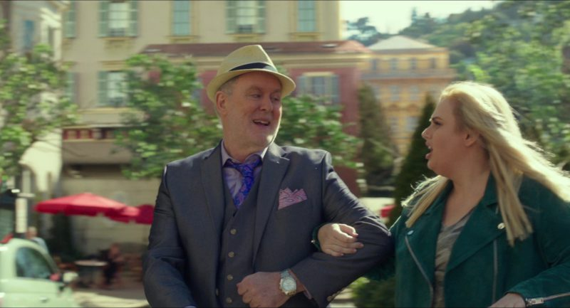 Breitling Watch Worn by John Lithgow in Pitch Perfect 3 (2017) - Movie Product Placement