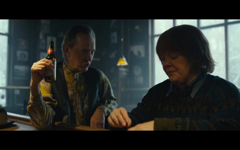 Budweiser Beer and Richard E. Grant in Can You Ever Forgive Me (1)