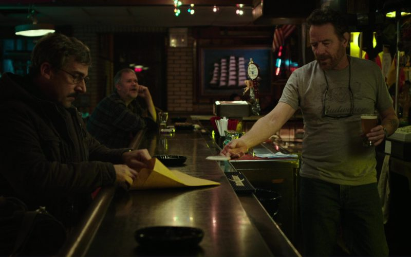 Budweiser T-Shirt Worn by Bryan Cranston in Last Flag Flying (1)