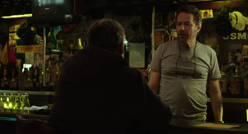 Budweiser T-Shirt Worn by Bryan Cranston in Last Flag Flying (2017) Movie Product Placement