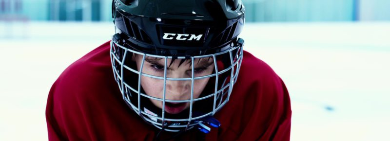 CCM Ice Hockey Helmets in 6 Below: Miracle on the Mountain (2017) Movie Product Placement