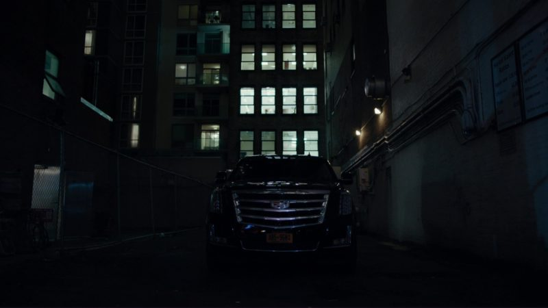Cadillac Escalade Car Used by Damian Lewis in Billions: The Wrong Maria Gonzalez (2018) TV Show Product Placement