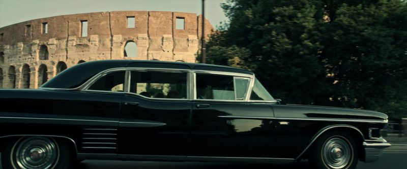 Cadillac Fleetwood Car in All the Money in the World (2017) Movie Product Placement