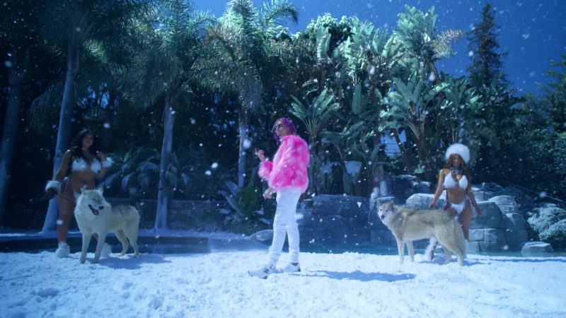 Chanel Men's Sneakers Worn by Lil Pump in ESSKEETIT (2018) Official Music Video Product Placement