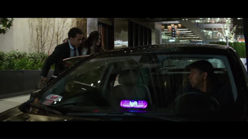 Chevrolet Car and Lyft in The Equalizer 2 (2018) Movie Product Placement