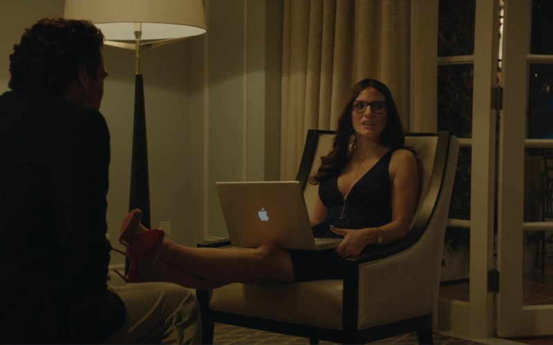 Christian Louboutin Shoes and MacBook Laptop Used by Jessica Chastain in Molly's Game (1)