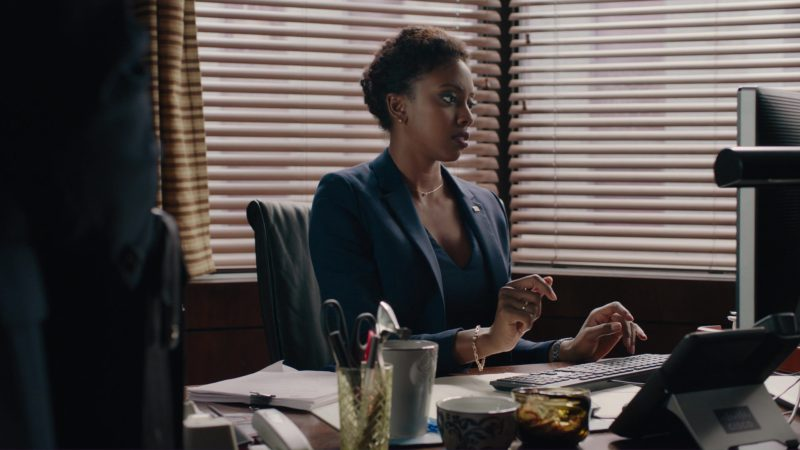 Cisco Phone Used by Condola Rashad in Billions: A Generation Too Late (2018) - TV Show Product Placement