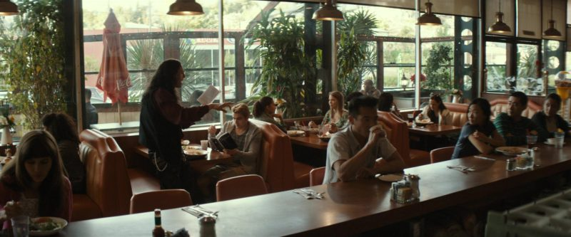 Coca-Cola Patio Umbrellas in The Disaster Artist (2017) - Movie Product Placement