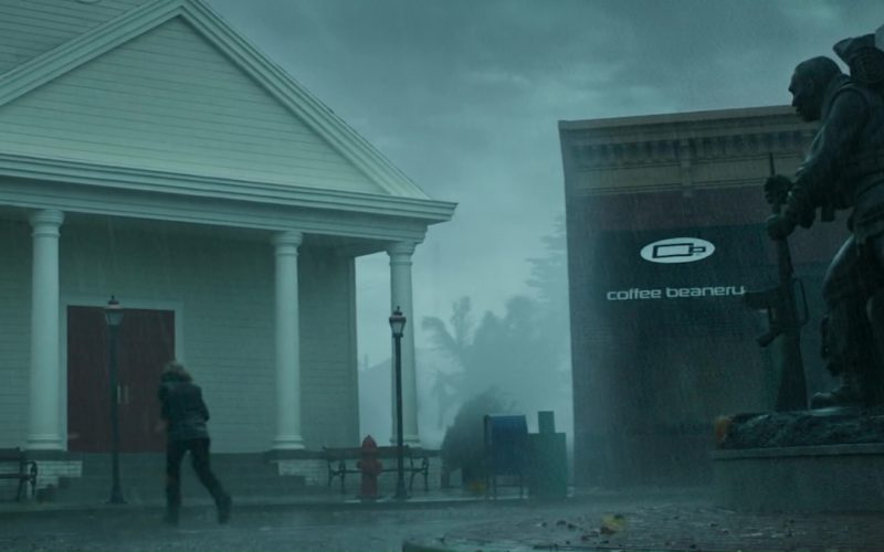 Coffee Beanery in The Hurricane Heist