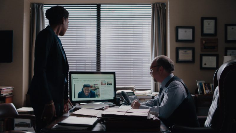 Dell LED Monitor Used by Paul Giamatti in Billions: A Generation Too Late (2018) - TV Show Product Placement