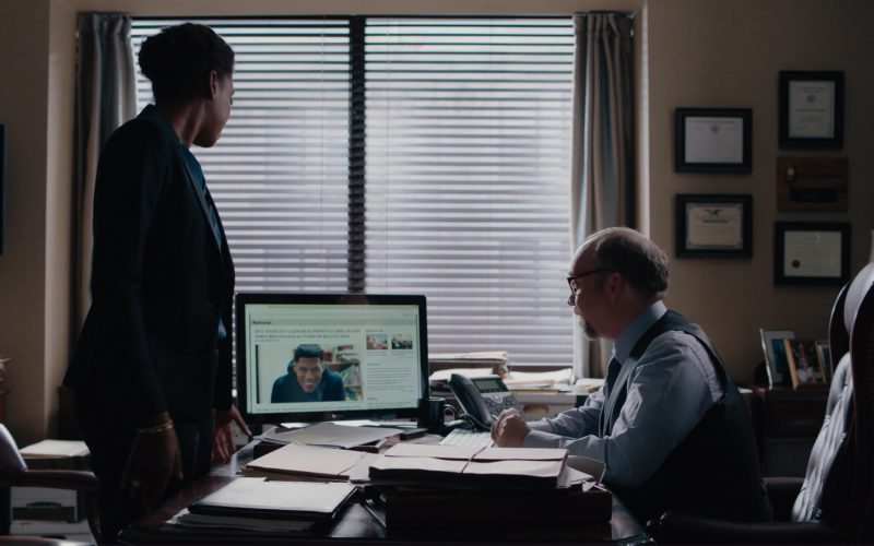 Dell LED Monitor Used by Paul Giamatti in Billions (1)