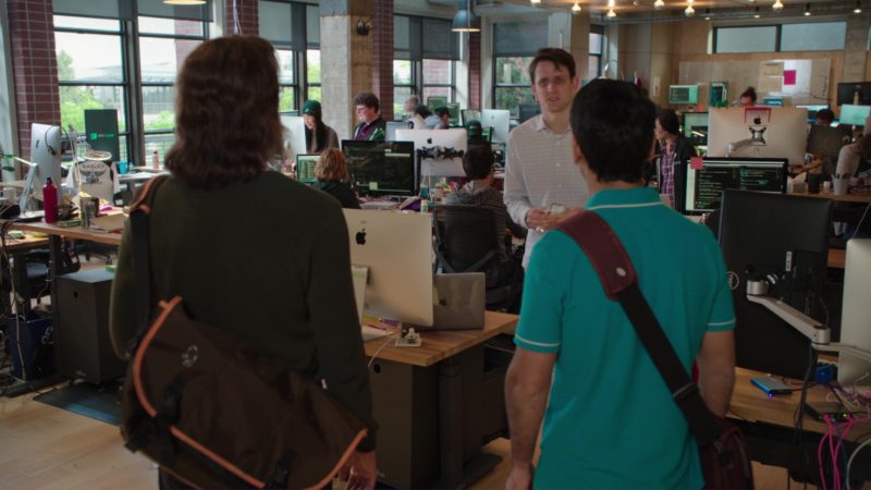 Dell Monitor, iMac Computers and Macbook Laptop in Silicon Valley: Reorientation (2018) TV Show Product Placement