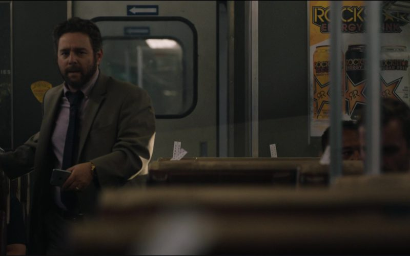 Diet Coke and Rockstar Energy Drink Posters in The Commuter (1)
