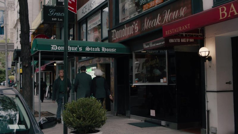Donohue's Steak House in Billions: Hell of a Ride (2018) TV Show Product Placement