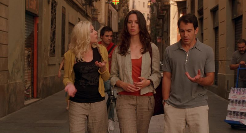 Evian Water in Vicky Cristina Barcelona (2008) Movie Product Placement