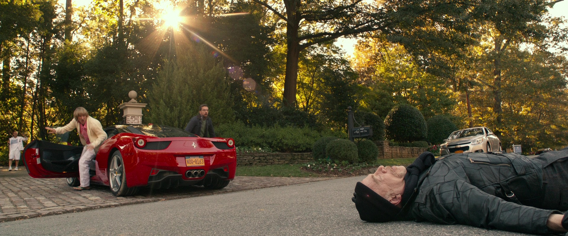 Ferrari Sports Car In Father Figures 2017 Movie