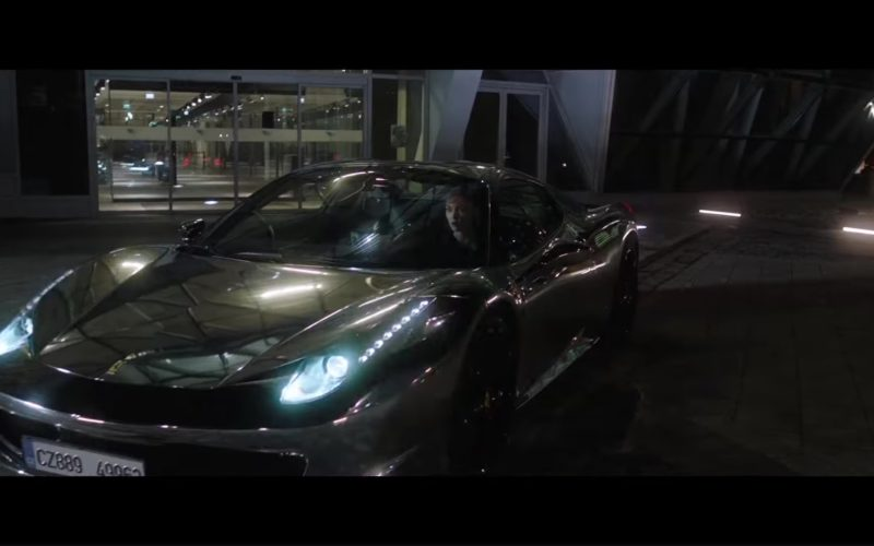 Ferrari Sports Car in The Spy Who Dumped Me (1)