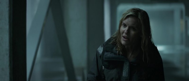 Gill Jacket Worn by Maggie Grace in The Hurricane Heist (2018) Movie Product Placement