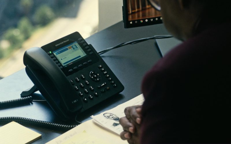 Grandstream Phone Used by Denzel Washington in Roman J. Israel, Esq. (1)