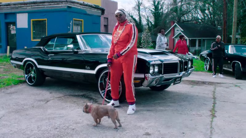 Gucci Women's Tracksuit and Shoes in PROUD by 2 Chainz ft. YG, Offset (2018) Official Music Video Product Placement