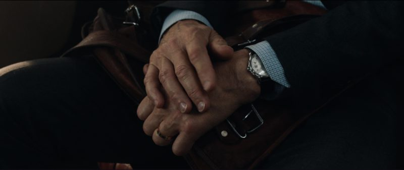 Hamilton Watch Worn by Liam Neeson in The Commuter (2018) Movie Product Placement