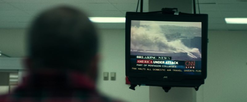 JVC TV and CNN in 12 Strong (2018) Movie Product Placement