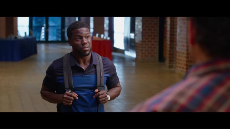 JanSport Backpack Worn by Kevin Hart in Night School (2018) Movie Product Placement
