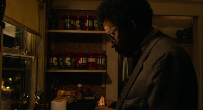 Jif Peanut Butter in Roman J. Israel, Esq. (2017) Movie Product Placement