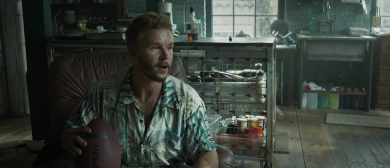 Kipsta Rugby Ball Used by Ryan Kwanten in The Hurricane Heist (2018) - Movie Product Placement