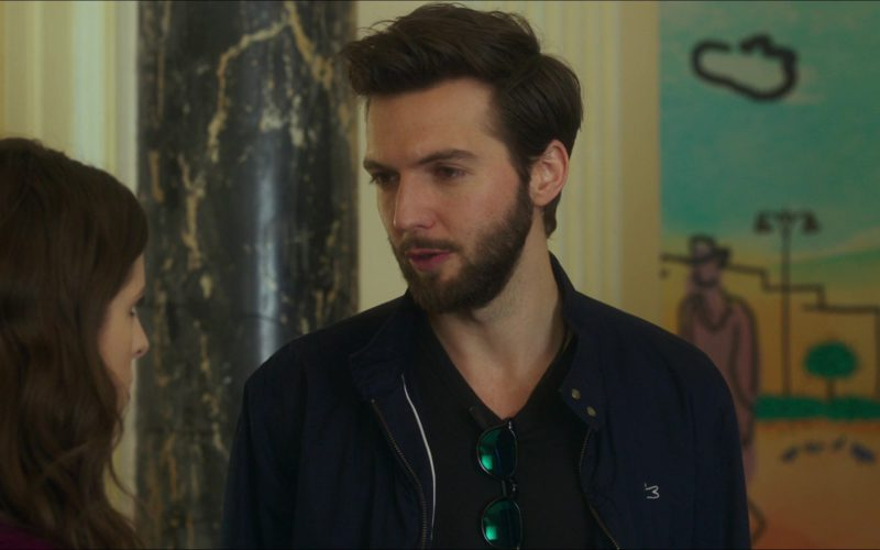 Lacoste Jacket Worn by Guy Burnet in Pitch Perfect 3 (4)