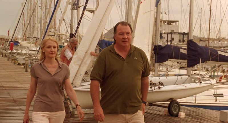 Lacoste Polo Shirt Worn by Kevin Dunn in Vicky Cristina Barcelona (2008) Movie Product Placement