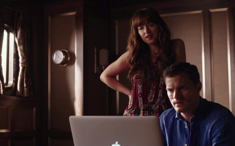MacBook Laptop Used by Jamie Dornan and Dakota Johnson in Fifty Shades Freed