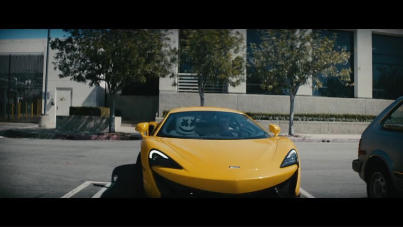 Mclaren Sports Car (Yellow) in Everyday by Logic and