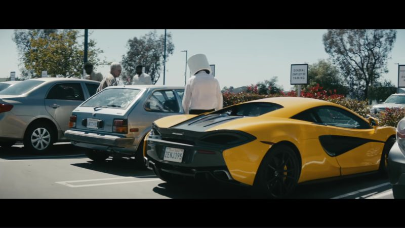 Mclaren Sports Car (Yellow) in Everyday by Logic and Marshmello (2018) - Official Music Video Product Placement