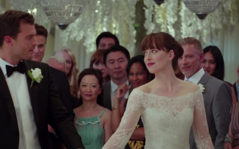 Monique Lhuillier Bridal Dress Worn by Dakota Johnson in Fifty Shades Freed (4)