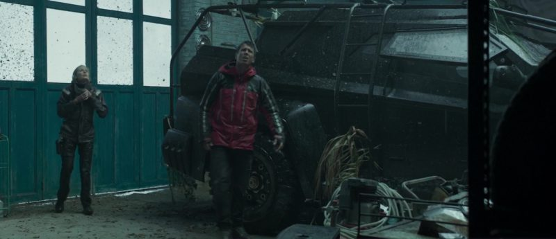 Mountain Equipment Men's Jacket Worn by Toby Kebbell in The Hurricane Heist (2018) Movie Product Placement