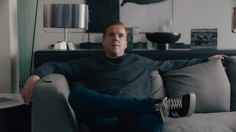 New Balance Shoes Worn by Damian Lewis in Billions: Hell of a Ride (2018) TV Show Product Placement