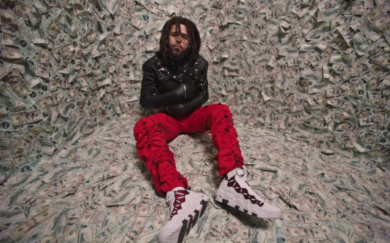 Nike Air More Money Sneakers Worn by J. Cole in ATM (10)