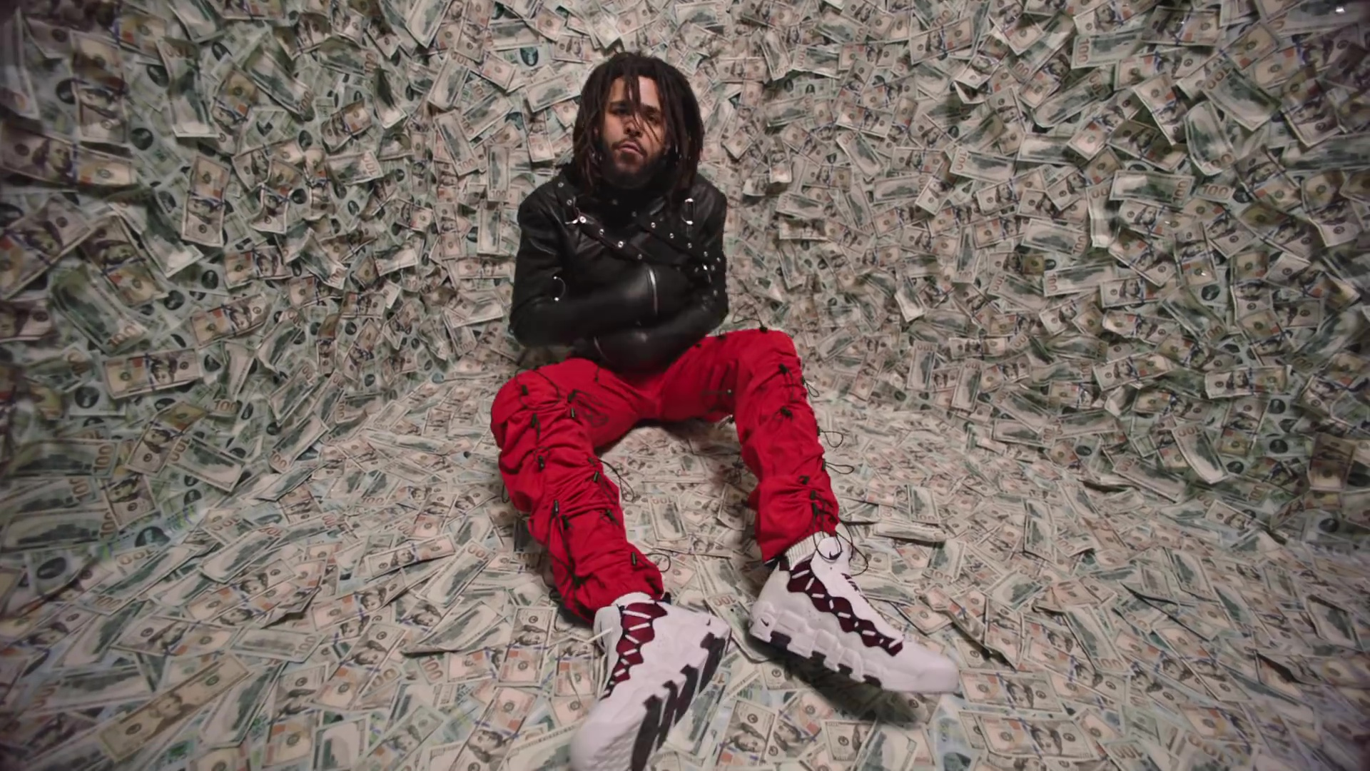 Nike Air More Money Sneakers Worn by J. Cole in ATM (2018 ...