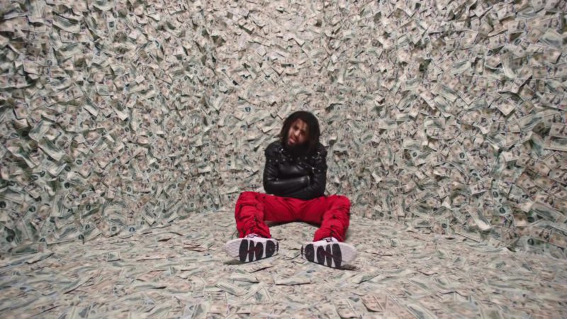Nike Air More Money Sneakers Worn by J. Cole in ATM (2018) - Official Music Video Product Placement