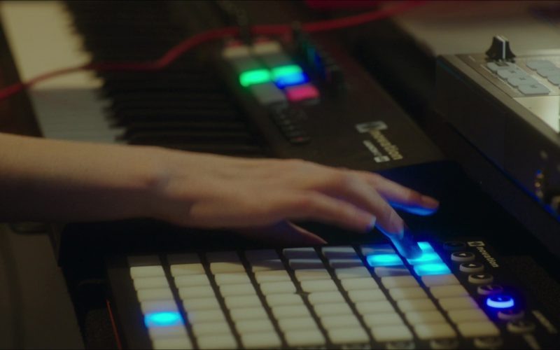 Novation Launchpad Used by Anna Kendrick and Guy Burnet in Pitch Perfect 3 (1)