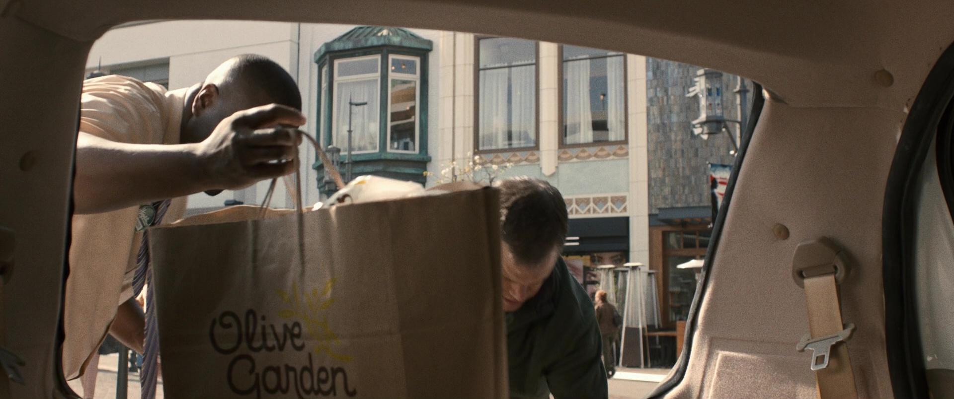 Olive Garden Restaurant Paper Bags Used by Matt Damon in Downsizing ...