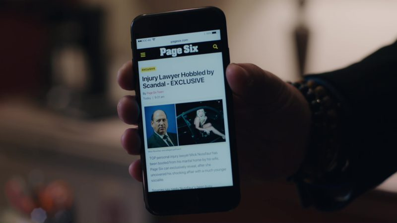 Page Six in Billions: Hell of a Ride (2018) - TV Show Product Placement